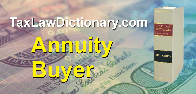 Annuity Buyer